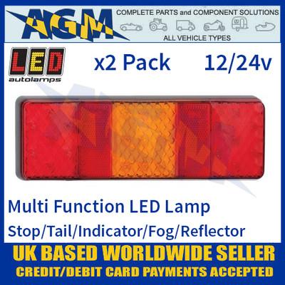 LED Autolamps 250FARM LED Rear Multi Function Lamp 12/24v