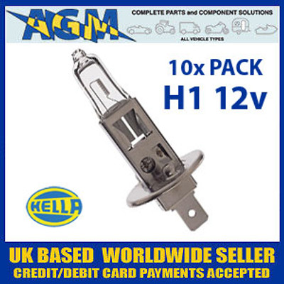 HELLA HB448 12v H1 Halogen Bulb (Pack of 10)