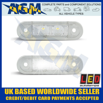 Led Auto-lamps 7922WM2 Front End Outline Marker Lamps