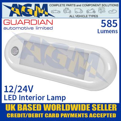 Guardian Automotive INT61 LED Interior Light with PIR Sensor 12/24V