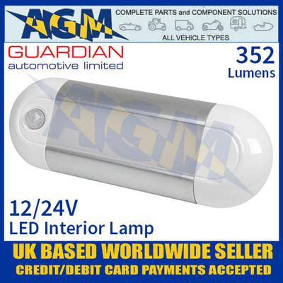 Guardian Automotive INT55 LED Interior Light with PIR Sensor 12/24V