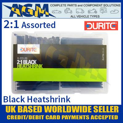 0-333-00 Durite Assorted 2:1 Adhesive Lined Heatshrink Kit - 175 pieces