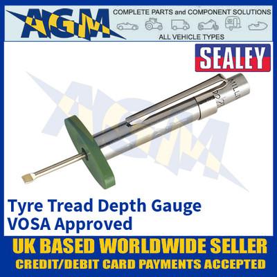 Sealey TST/DG Tyre Tread Depth Gauge VOSA Approved, Tyre Tread Gauge