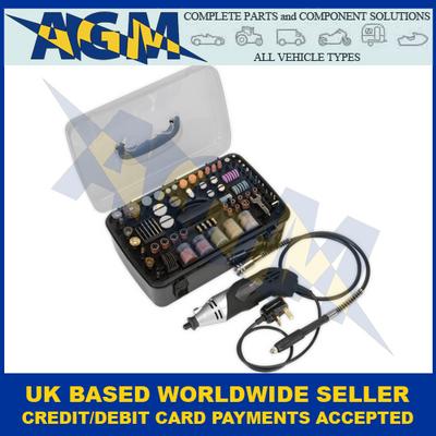 Sealey E5188, Multi-Purpose Rotary Tool And Engraver, 219 Piece Set, 230v