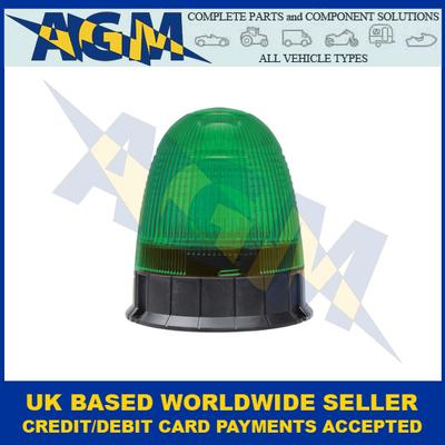 Guardian AMB75G, LED Green Beacon, Three Bolt Fixing, 12/24v
