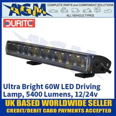 Durite 0-420-96 Ultra Bright 60W Driving Lamp, 5400 Lumens, 12/24V