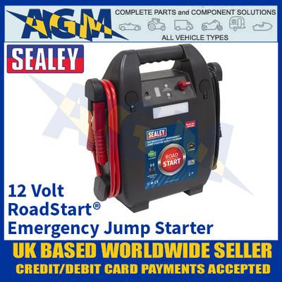 Sealey RS103B RoadStart® Emergency Jump Starter 12V 5ltr 8 Cylinder