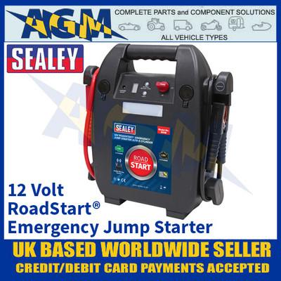 Sealey RS1B RoadStart® Emergency Jump Starter 12V 2ltr 4 Cylinder