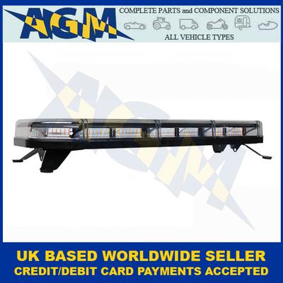 Guardian Automotive, R65, AMB121, 4-Bolt LED, Low Profile Light Bar, 10-30v, 921mm Long