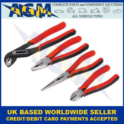 Sealey Premier Range, AK8579, 4 Piece Pliers Set