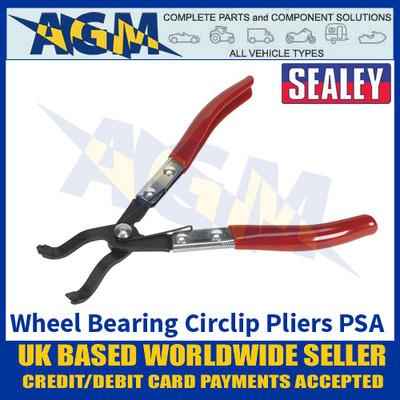 Sealey VS7040 Wheel Bearing Circlip Pliers - PSA - Citroen, Peugeot, Renault, Toyota