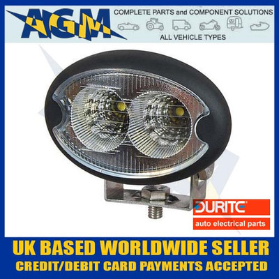 Durite 0-420-60 12V-24V Twin 3W LED Compact Work Lamp