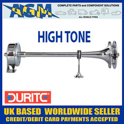 Durite 0-642-52, 12v, 390Hz High Tone Electro-Magnetic Marine Electric Trumpet Horn