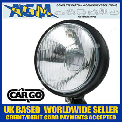 Cargo 170132 Fully Enclosed Halogen Headlamp - Tractors, Kit Cars
