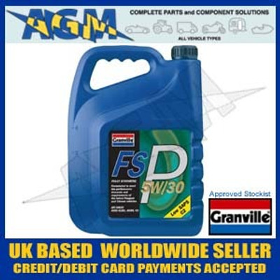 Granville 0482 FSP 5W30 Fully Synthetic Peugeot C2 Spec Engine Oil 5W/30 5 Ltr
