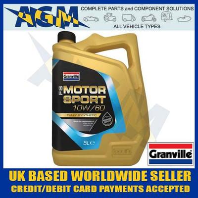 granville, 0489, fs, motorsport, 10w/60, fully, synthetic, engine