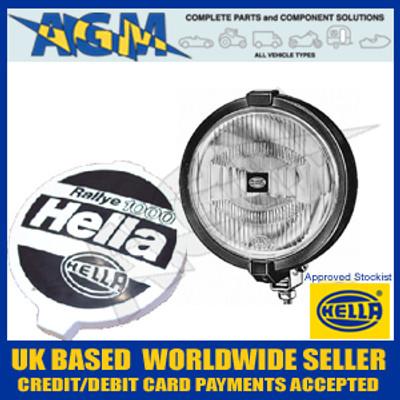 Hella 1F7004700-391 Rallye 1000 Clear Glass Spot/Driving Lamp