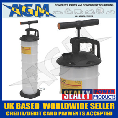 SEALEY TP69 Vacuum Oil & Fluid Extractor Manual 6.5ltr