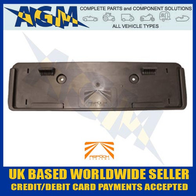 Aspock KLTF0693 Thermoplastic Oblong Trailer Number Plate Holder