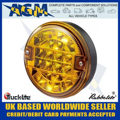 TRUCK-LITE 810/55/00 LED Hamburger Style Indicator Lamp 12v/24v