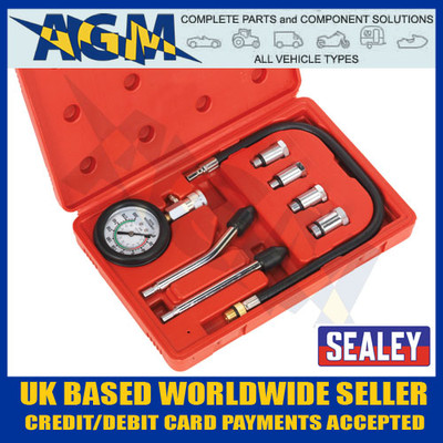 Sealey CT955 Petrol Engine Compression Test Kit 8pc