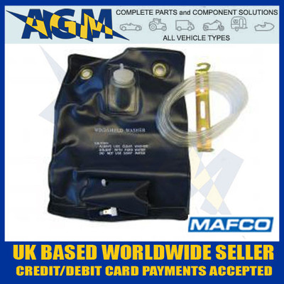 Universal Mafco Windscreen Washer Bottle BAG Kit 12 Volt - Classic MGB GT Austin Race