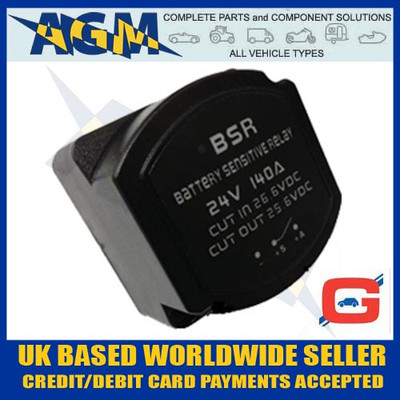 Guardian GR42, VSR, 24V 140A Split Charge Intelligent Relay