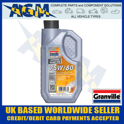 Granville 1638 EP 75w/80 Hypoid Gear Oil 1 Ltr