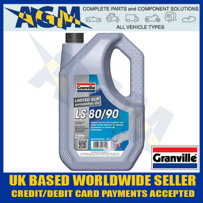 Granville 1715 LS 80w/90 Hypoid Gear Oil 5 Ltr