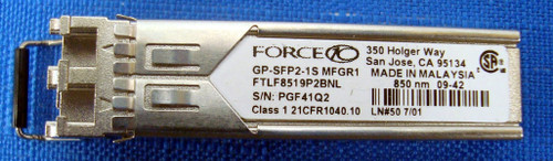 Force10 GP-SFP-1S (SFP) 850 nm SX Gigabit Optical Mod ROHS GENUINE
