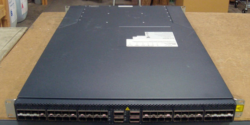 Juniper Networks QFX3500-48S4Q-ACR-F 48-Ports-Ports Rack-Mountable Switch Managed