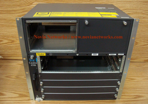 Catalyst 4500 Chassis (6-Slot),fan, no p/s