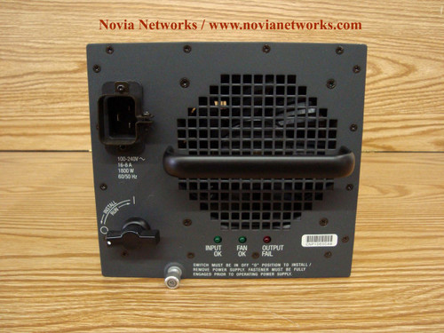 Cisco AC Power Supply for Catalyst 6000 6500 WS-CAC-1300W