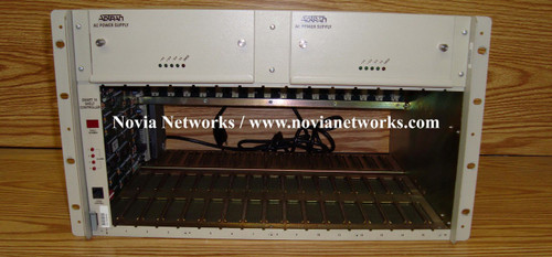 Adtran 1200.023 Smartshelf 16 w/ Smart 16 Controller and (2) AC PS