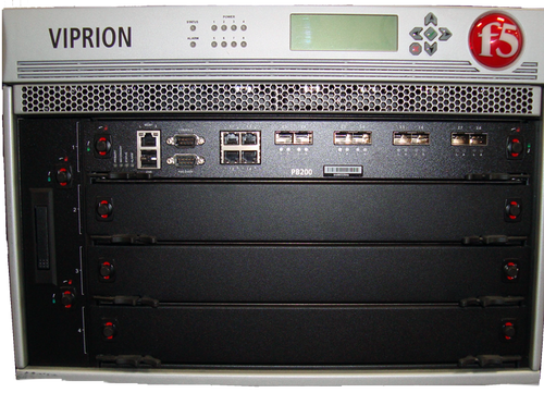 F5-VPR-LTM-4S-AC VIPRION LTM 4400 with PB200