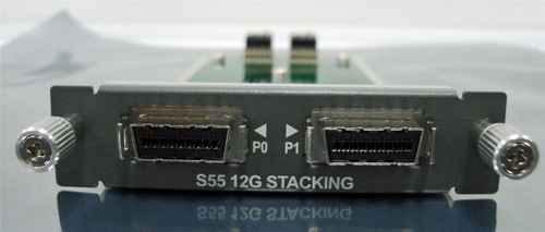 Force10 S55-12G-2ST 2-port 12Gbps high-speed stacking