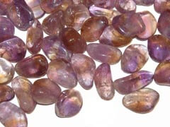 Ametrine powerfully combines the powers of Amethyst & Citrine - Free info about healing meanings & how to use with purchase - Free shipping over $60.