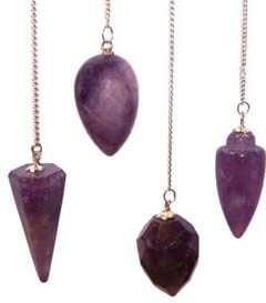 You can buy an assortment of pendulums online in our pendulum shop – Instructions on how to use one is included with purchase – Free shipping over $60.