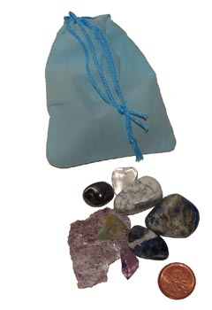 Set of the best stones for insomnia & a good night's sleep – Free info on properties of each stone and how to use with purchase – Free shipping over $60.