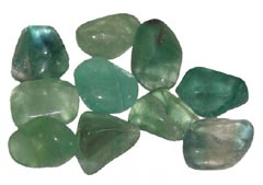 Green Fluorite absorbs negative energies - Free info on healing meanings and how to use with purchase - Free shipping over $60.