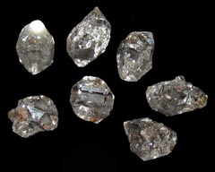 Herkimer Diamonds are associated with the Crown Chakra - Free info on healing meanings and how to use with purchase - Free shipping over $60.