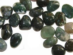 Green Moss Agate is a stabilizing stone that is strongly connected with Nature - Free info on meanings and how to use with purchase - Free shipping over $60.