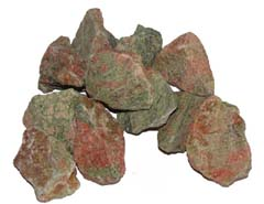 Unakite is a stone of vision - Free info on meanings of healing and how to use with purchase - Free shipping over $60.