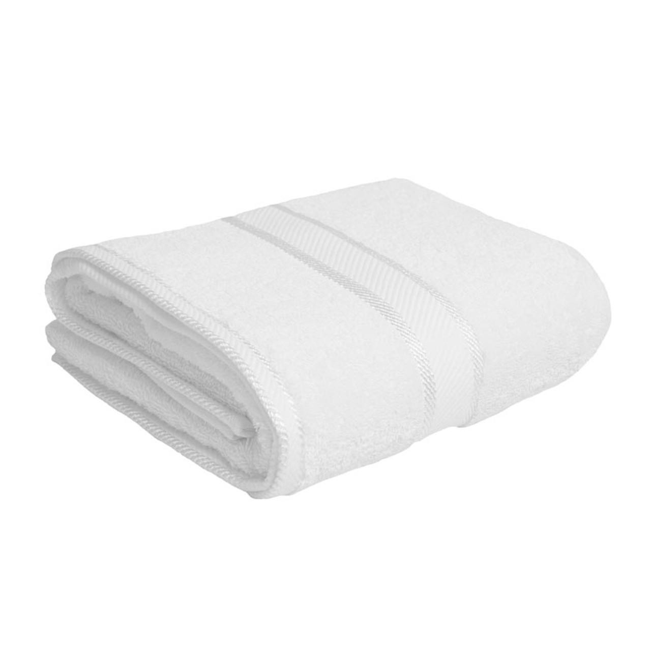 white bath towel. 100% Cotton White Bath Towel R