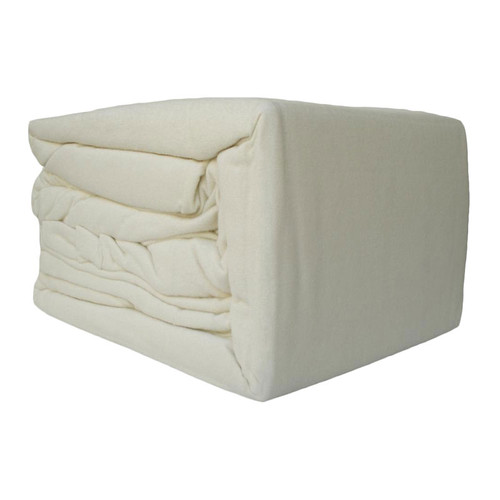 Cream Flannelette Sheet Set