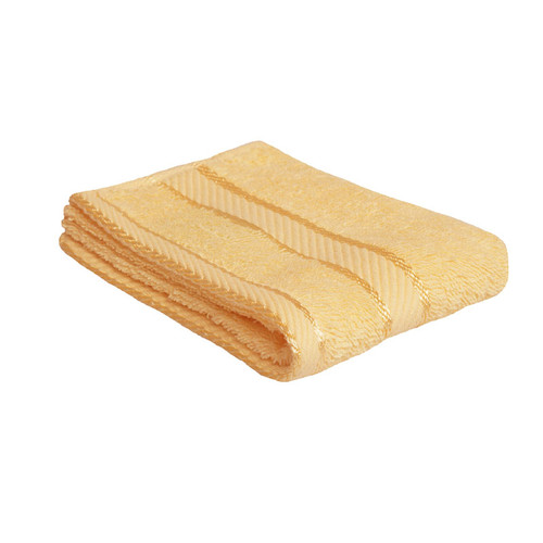 100% Cotton Yellow Face Washer