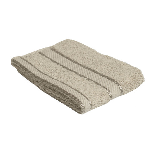 100% Cotton Linen / Latte Coffee Face Washer