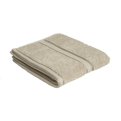 100% Cotton Linen / Latte Coffee Hand Towel