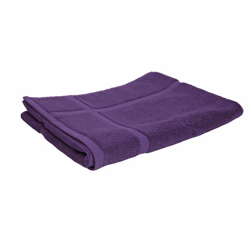 100% Cotton Purple Bath Mat