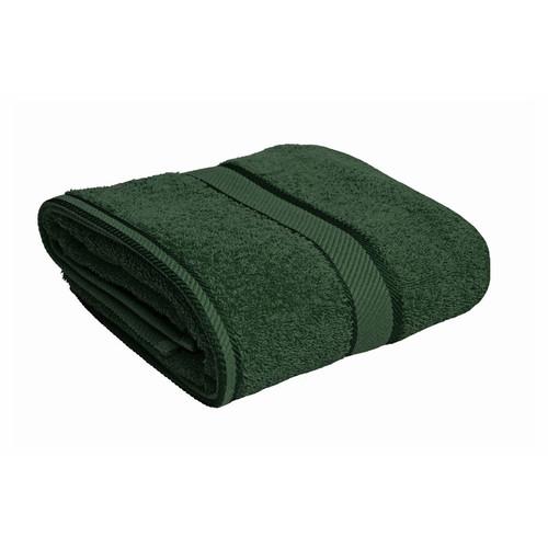 100% Cotton Forest Green Bath Towel